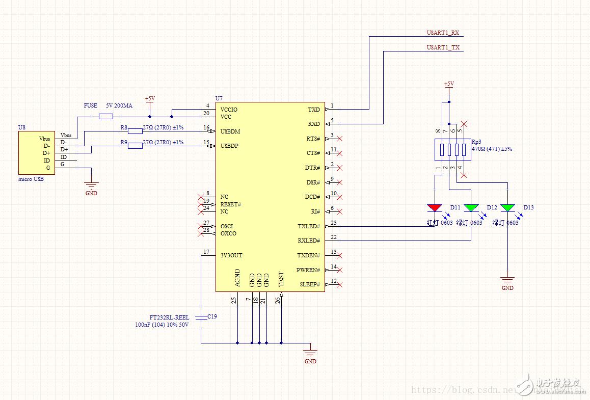 接口转换芯片-FT232RL