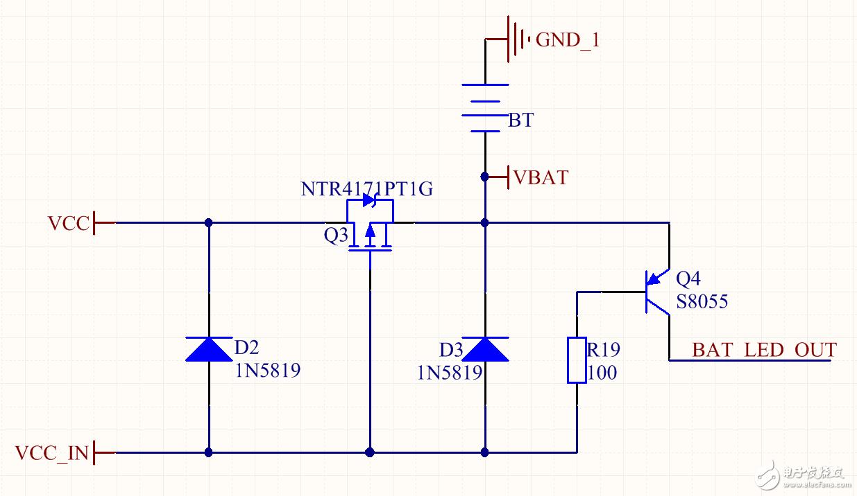 请问锂电池充电指示电路能工作吗?
