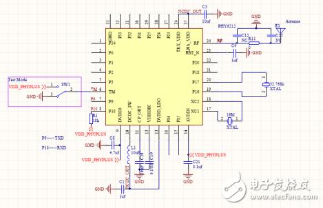 低成本蓝牙IC——HPY6202 CPU详细介绍
