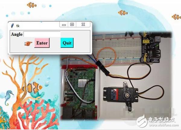 黑科技!使用Raspberry Pi和Python GUI控制伺服电机(原理图、源码、项目教程)