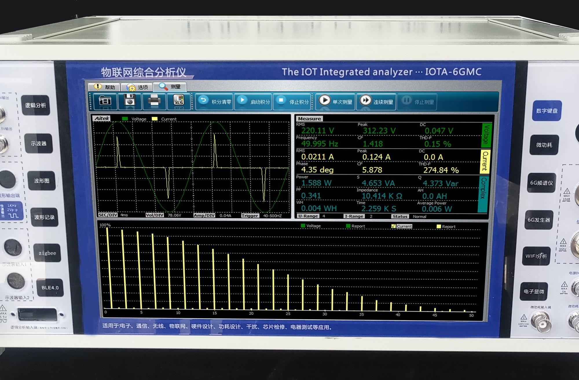 辰诚恒盛IOTA-6GMC物联网综合分析仪
