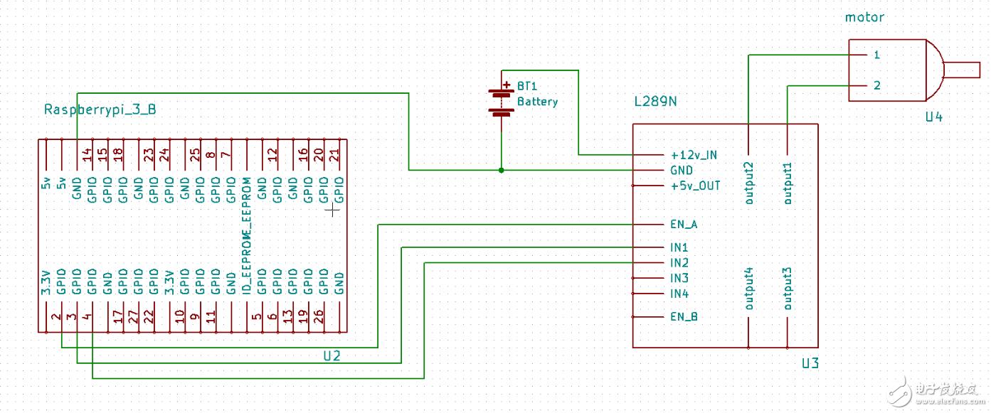 玩转树莓派—树莓派 3 + L298N模块控制直流电机