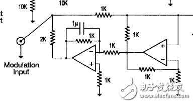 请问左边运放同相端的电阻怎么确定的。反向端1μF电容是怎么算的?