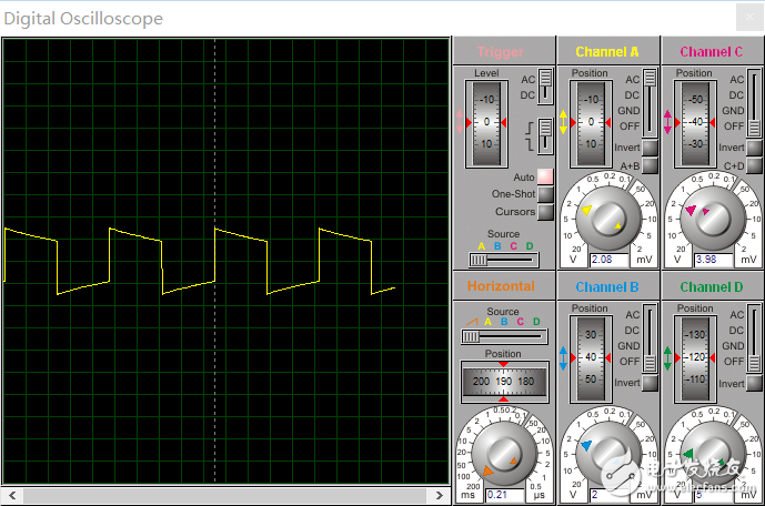 请问设计信号发生器输出方波是出现失真?
