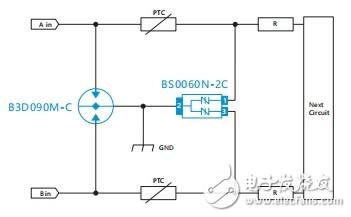 关于RS-485接口的静电和浪涌保护
