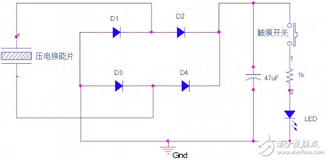 【每日电路赏析】压电换能器电路