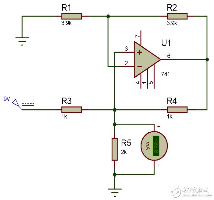 【每日电路赏析】Howland电流泵电路