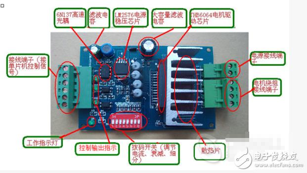 双全桥MOSFET步进电机驱动器设计原理图、程序、教程说明