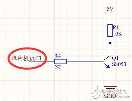 单片机I/O口电压被拉低,求帮助