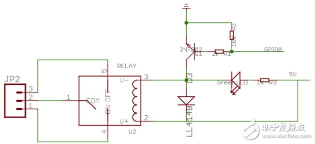 继电器控制电路中二极管的作用