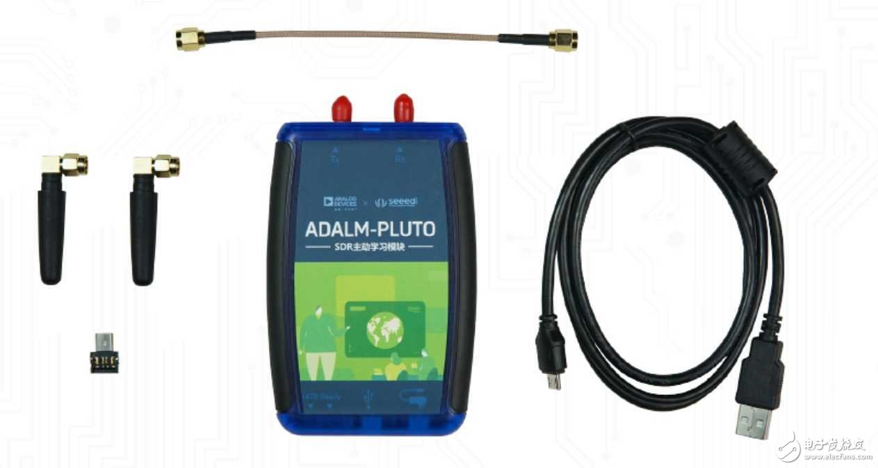 Seeed ADALM-PLUTO 射频分析仪