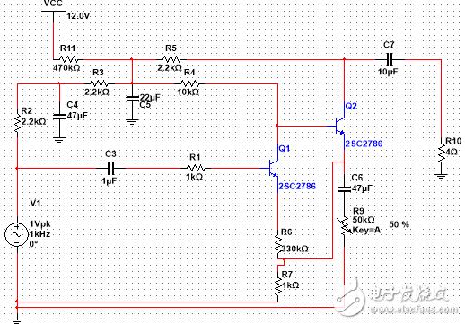 求分析一下这个电路图,各个原件的作用?
