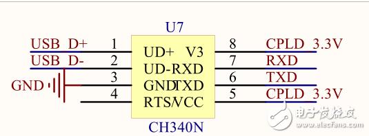 用CH340N做了一块板,现在莫名只能发数据不能收数据,不知道什么原因?
