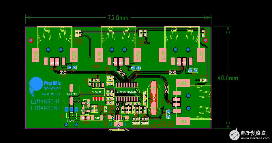 【林工推荐】USB2.0 HUB资料全集(MA8601/FE1.1S)