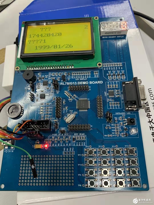 誰有瑞薩 RL78/G13 DEMO BOARD  的學習板子 哪里可以買到