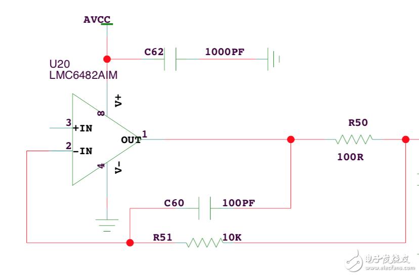 跟随电路中的rc的作用是什么,求解答
