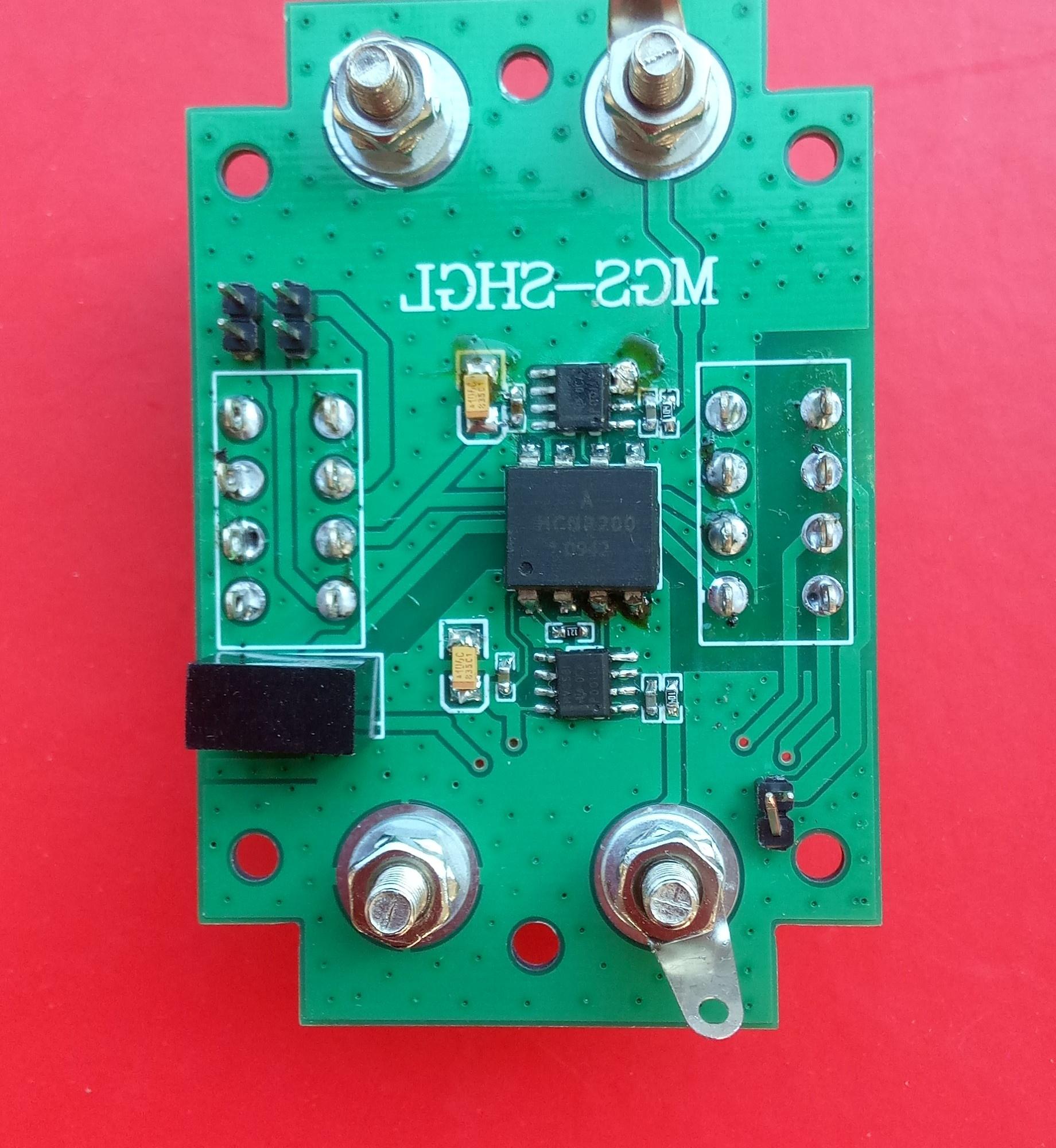 高精HCNR200模拟信号线性隔离放大器(内有电路图片)