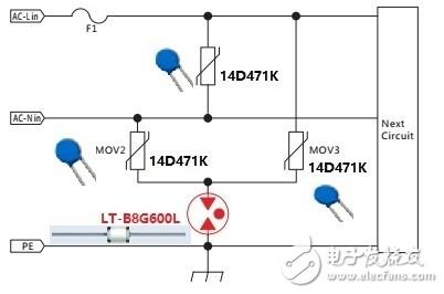EMC常用电路保护器件特点