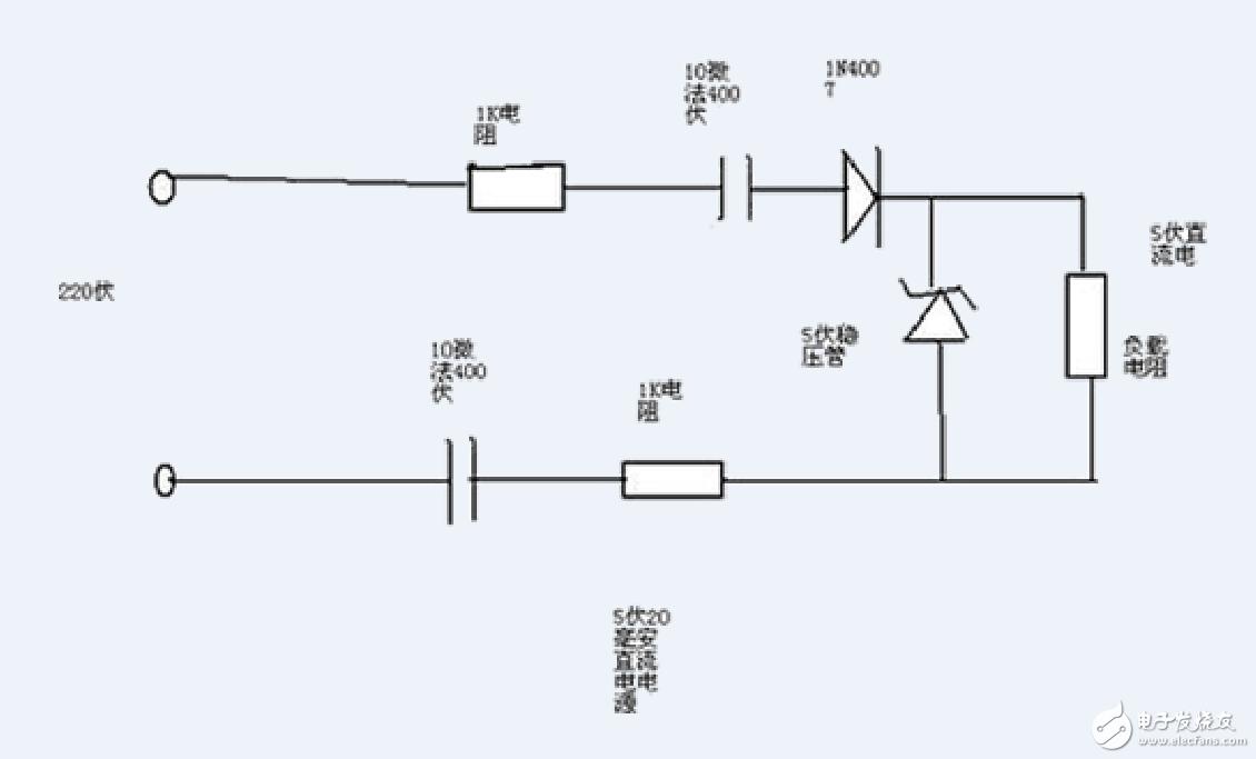 非隔离220V转5V应用方案TT119