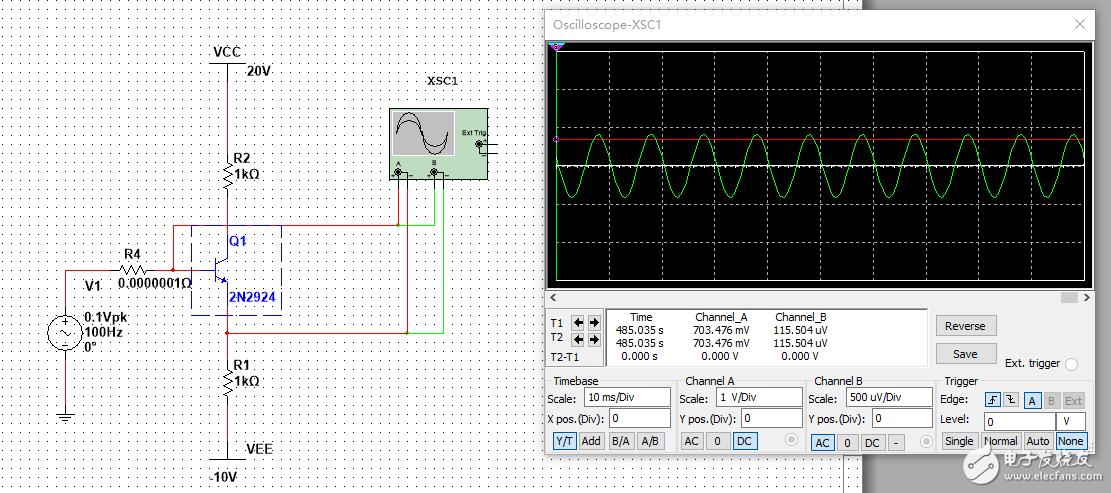 NPN三极管的VBE是动态的还是静态的