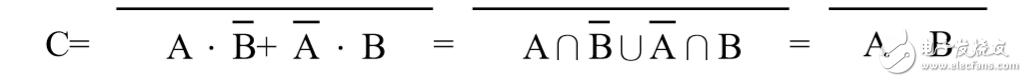 门电路的计算方式 门电路工作原理真值计算