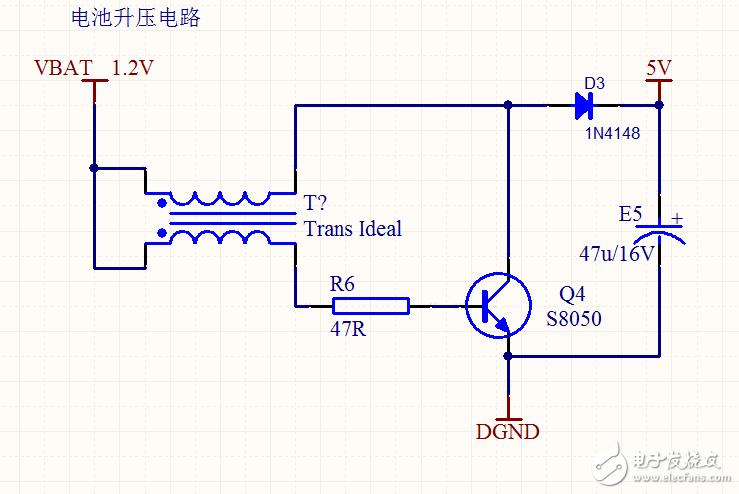 请问电池升压电路加负载输出就降低到了2V,是否电路有问题?