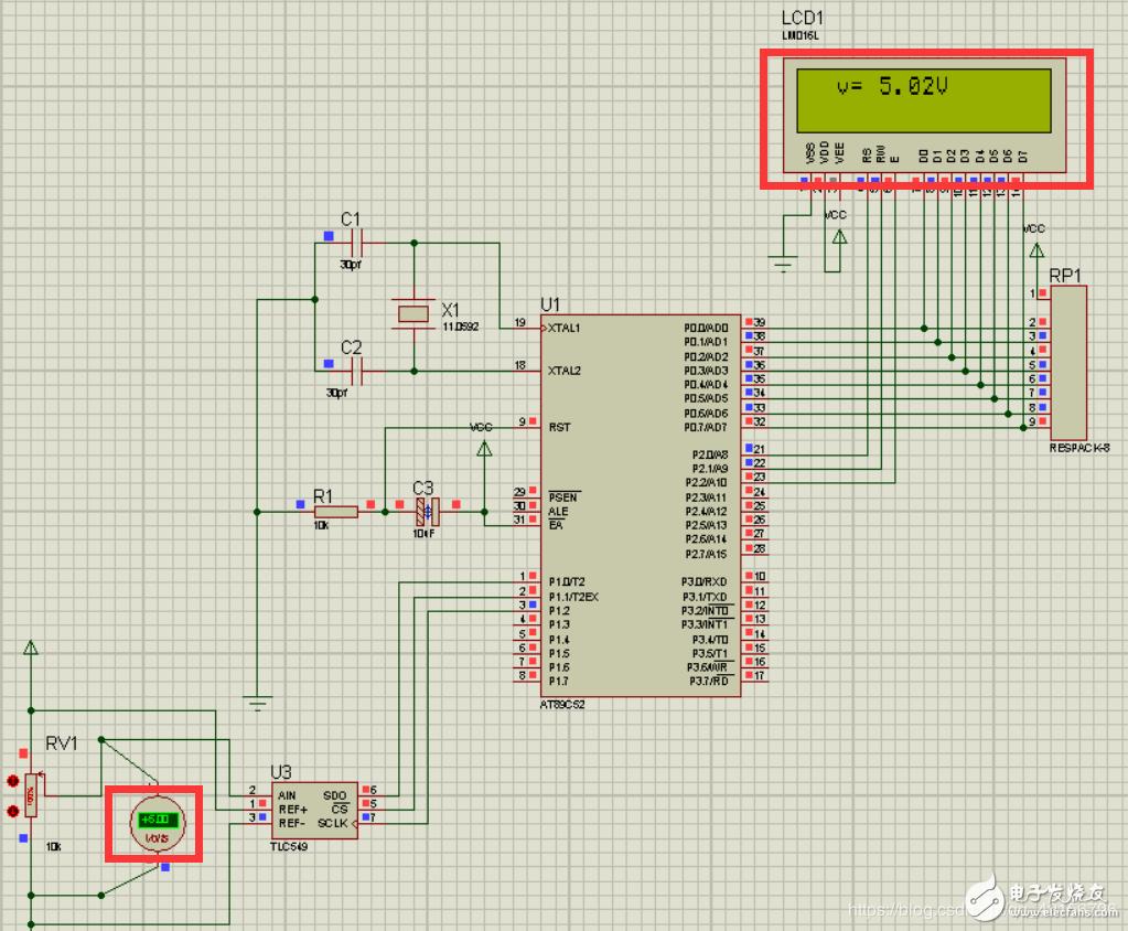 求光电二极管的弱电采集放大电路