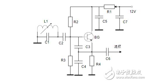 黑白电视机高频头的本振电路是哪种振荡电路