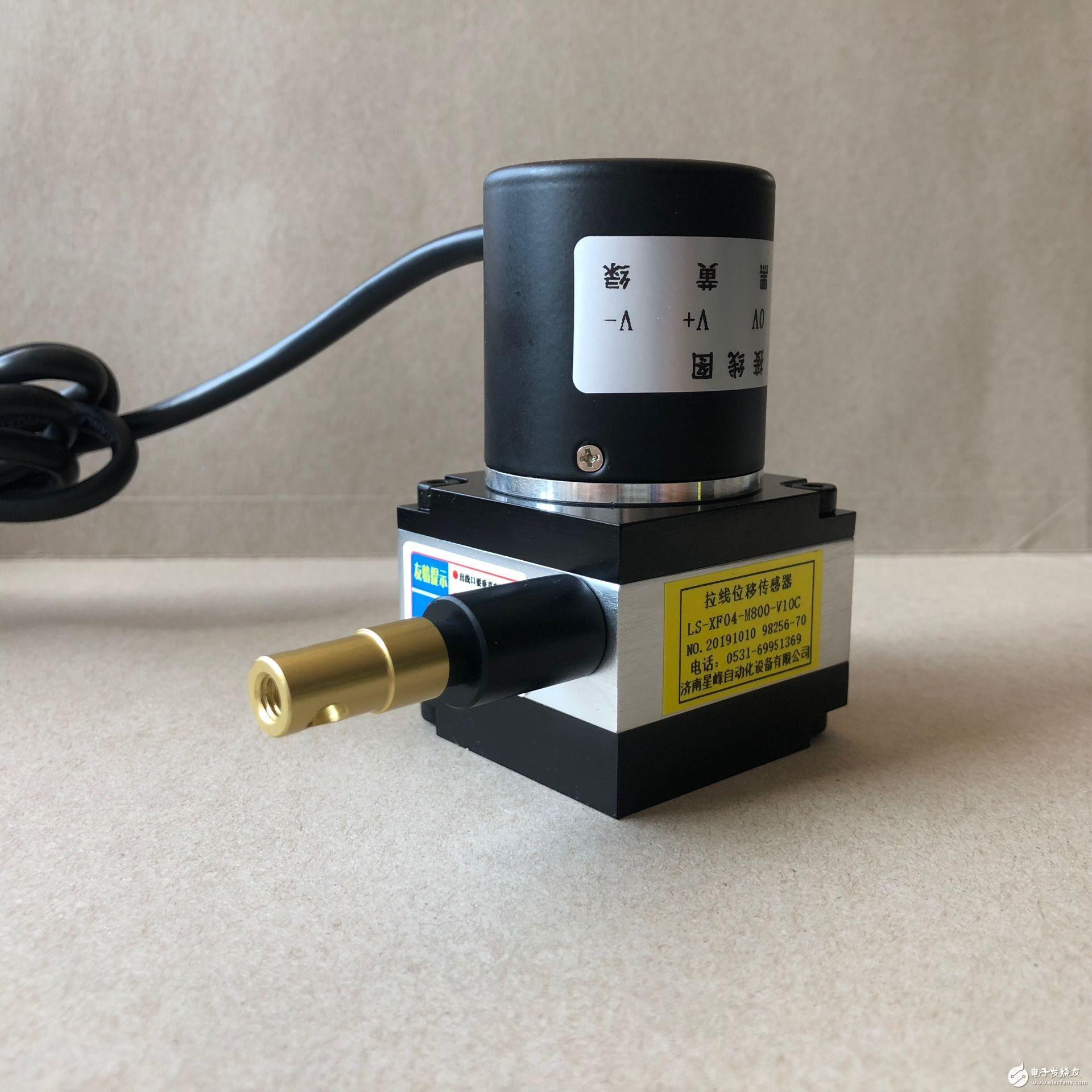 模拟输出拉绳式拉线位移传感器/电子尺的选型方式