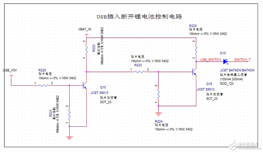 支持外設接口的雙電源電路拔掉USB時系統短暫掉電,請教這是什么原因?