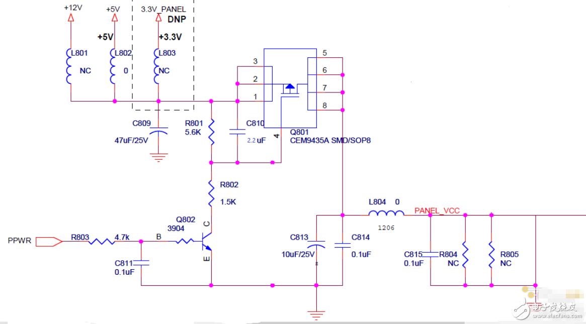 请教大家这个控制电路电压异常问题,该如何修改反向电路?