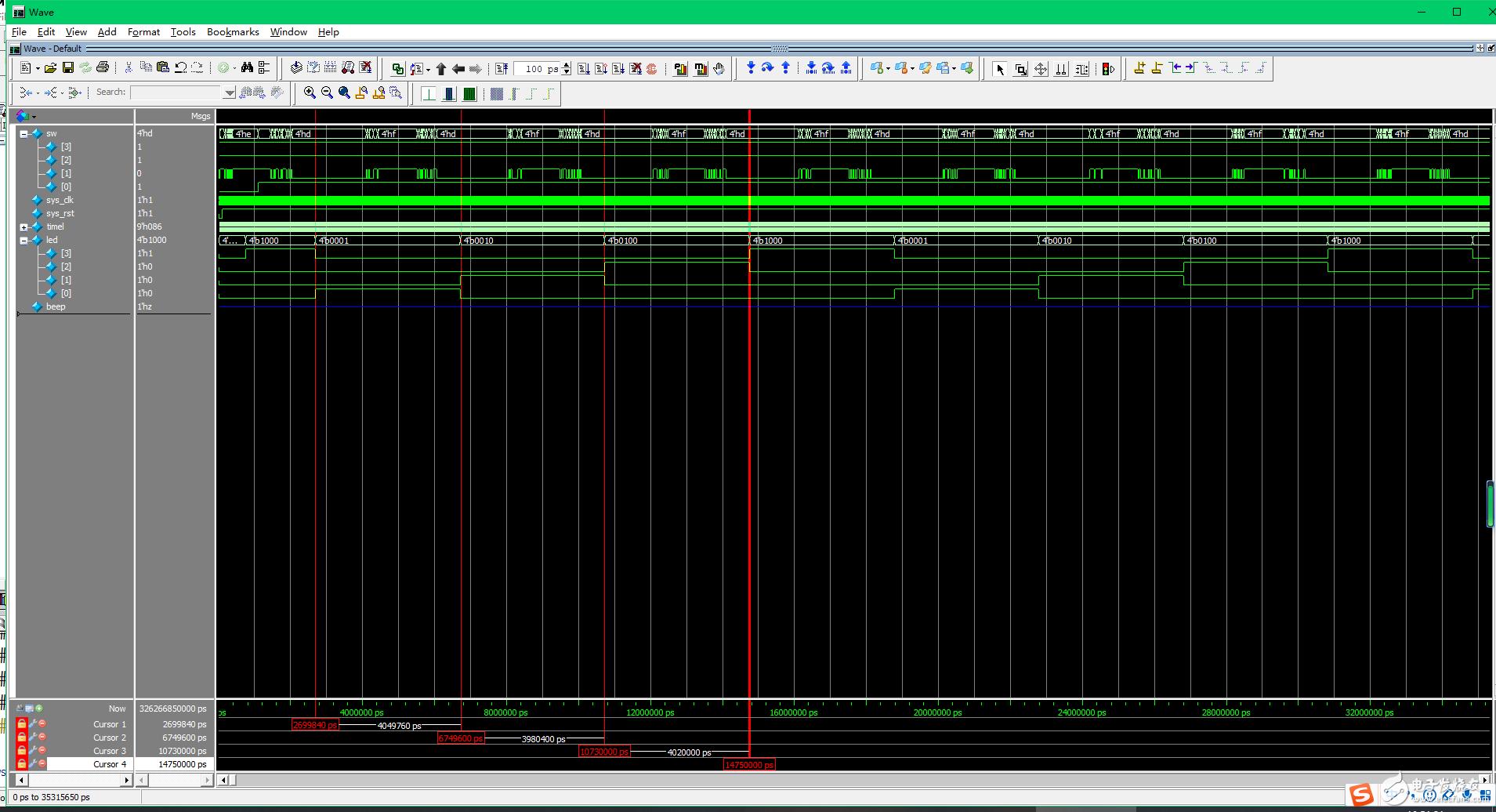 【雨的FPGA笔记】基础实践-------按键控制LED和BEEP设计和实现