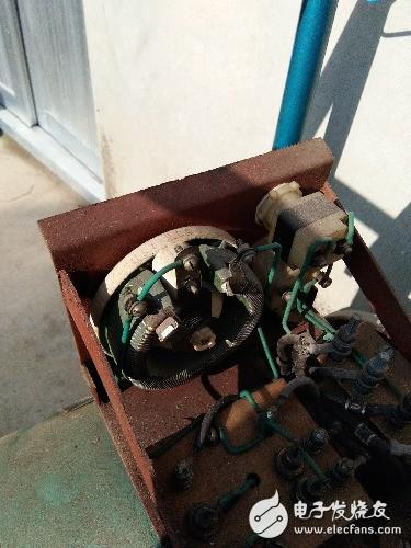 三相有刷发电机的故障