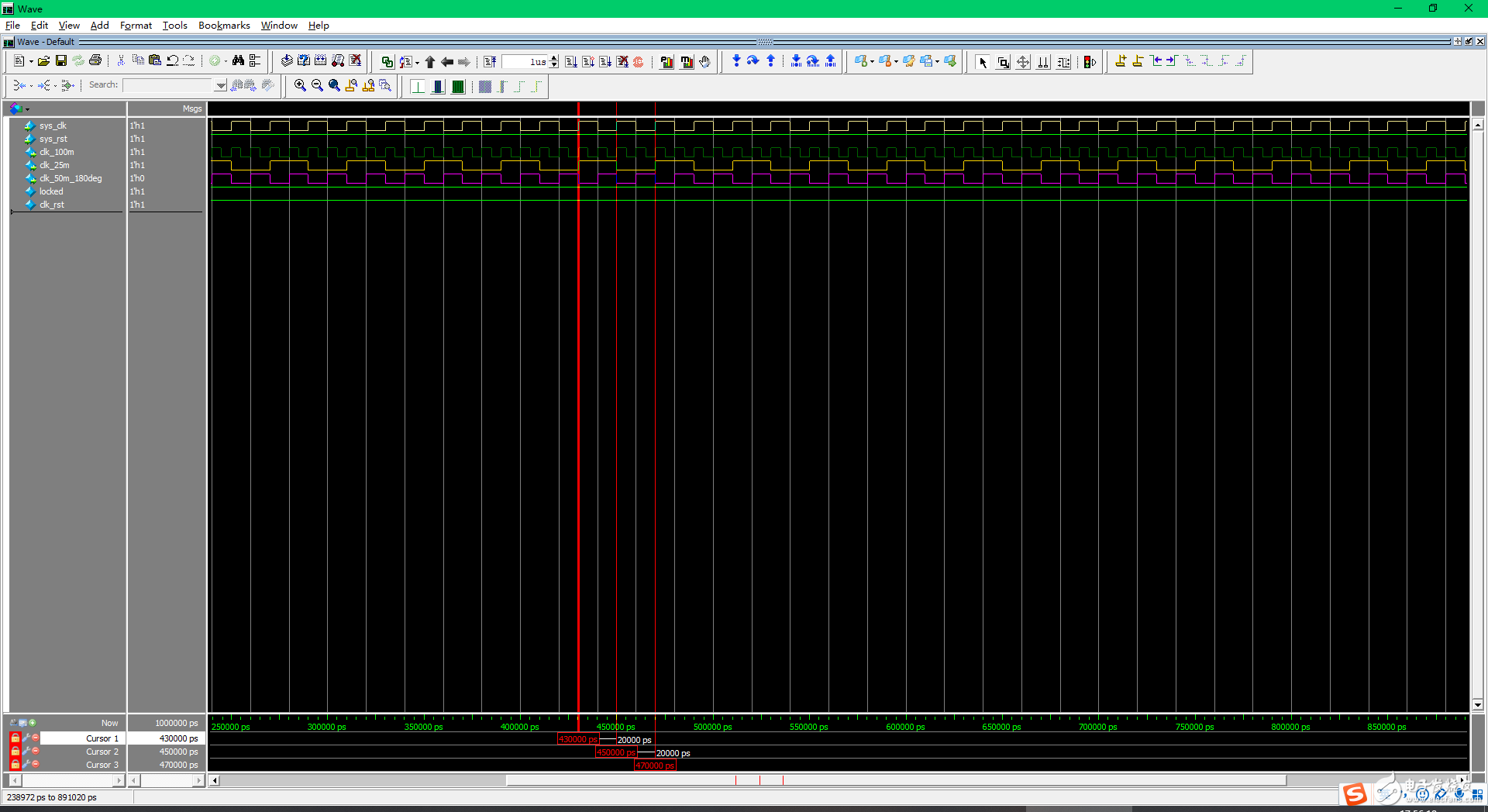 【雨的FPGA笔记】基础实践-------IP核中PLL的使用