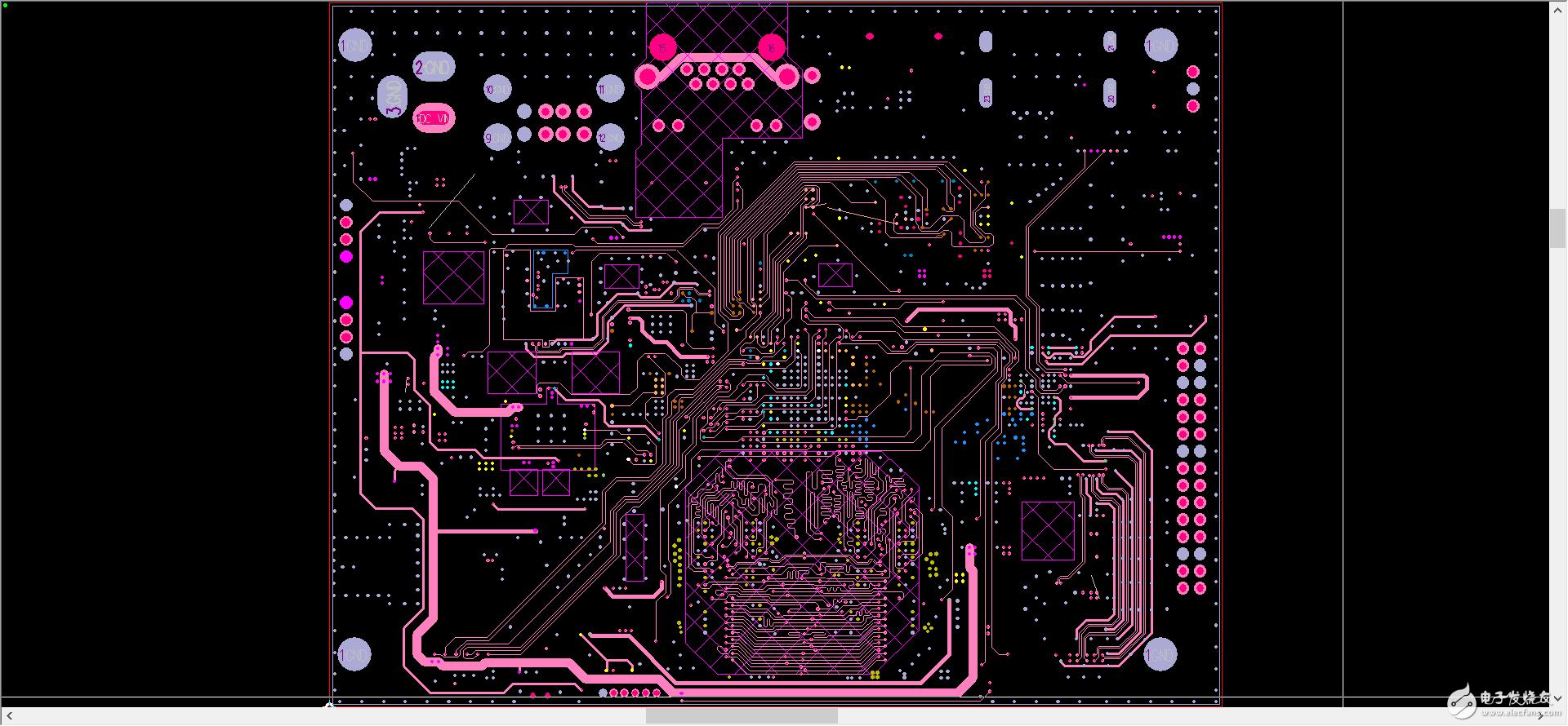 【PCB设计大赛】RK3188工控主板