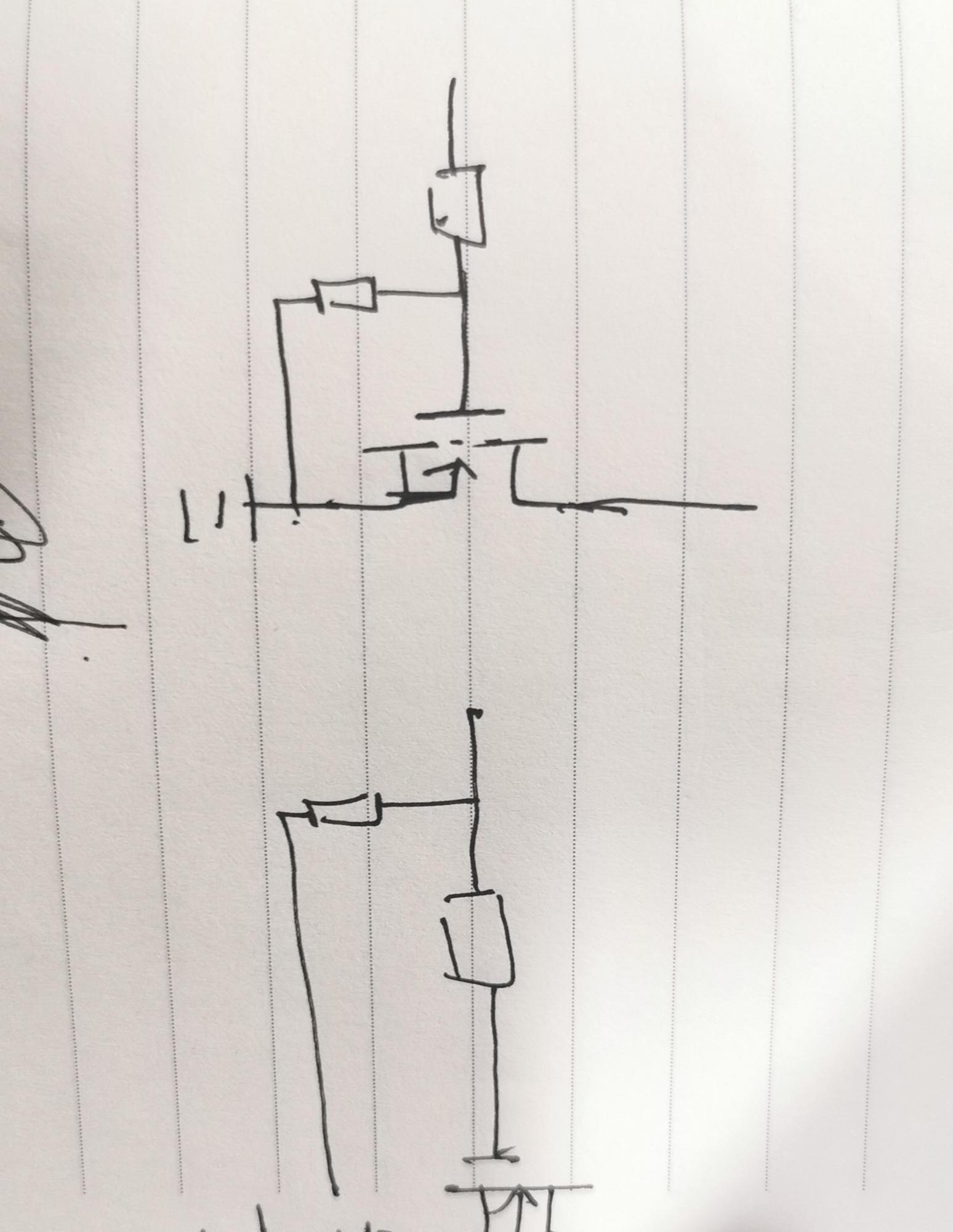 MOS的开关电路,下拉电阻的位置在哪比较合适