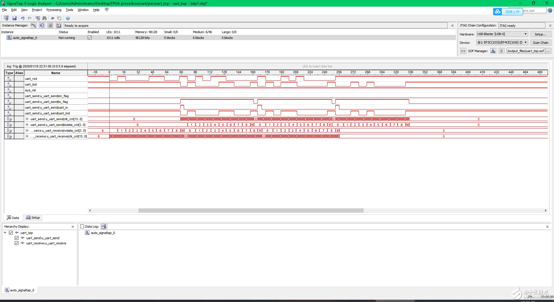 【雨的FPGA笔记】基础实践-------串口程序