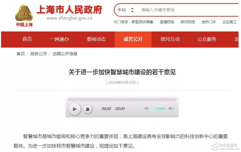 上海率先把危變機,加快智慧城市建設意見出臺!