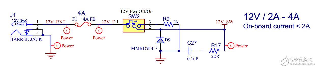电源中并联一个RC(R17,C27)电路到地的作用,及D9,R9的作用是什么?