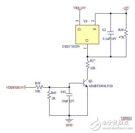 开关电路中的三极管产生漏电源的原因及解决方法?