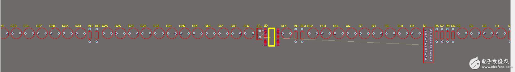 用AD16画的原理图导入PCB时不显示元器件之间连接线,有知道问题出在哪吗?