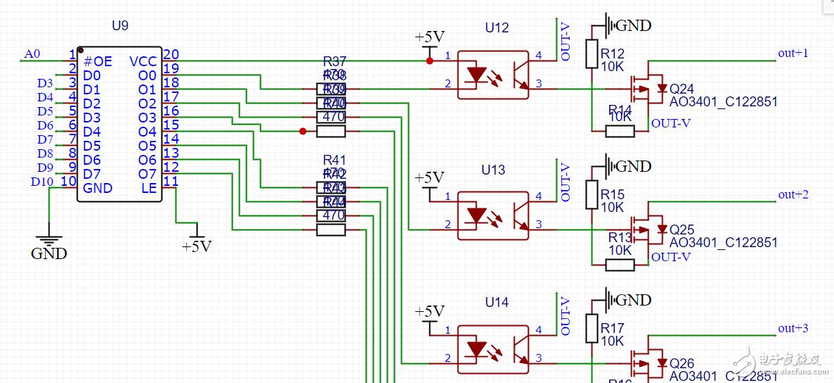 MOS管控制电磁铁的电路,请大佬看下是否可行?