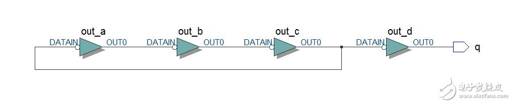 请教,lattice mxo2做环形振荡器综合报错,什么原因?