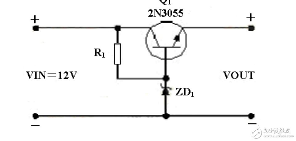 稳压管降压电路中三极管的作用