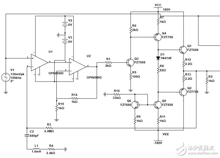如何解決選頻放大電路中零輸入非零輸出問題?