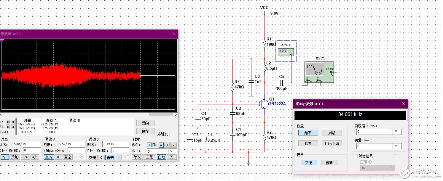 为什么这个振荡电路就是振不起来呢