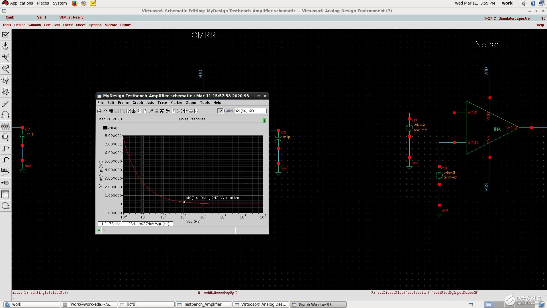 三运放放大器怎么提高增益和CMRR?