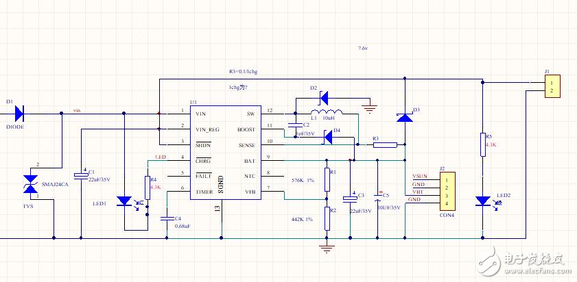 太阳能充电LT3652充电电流小