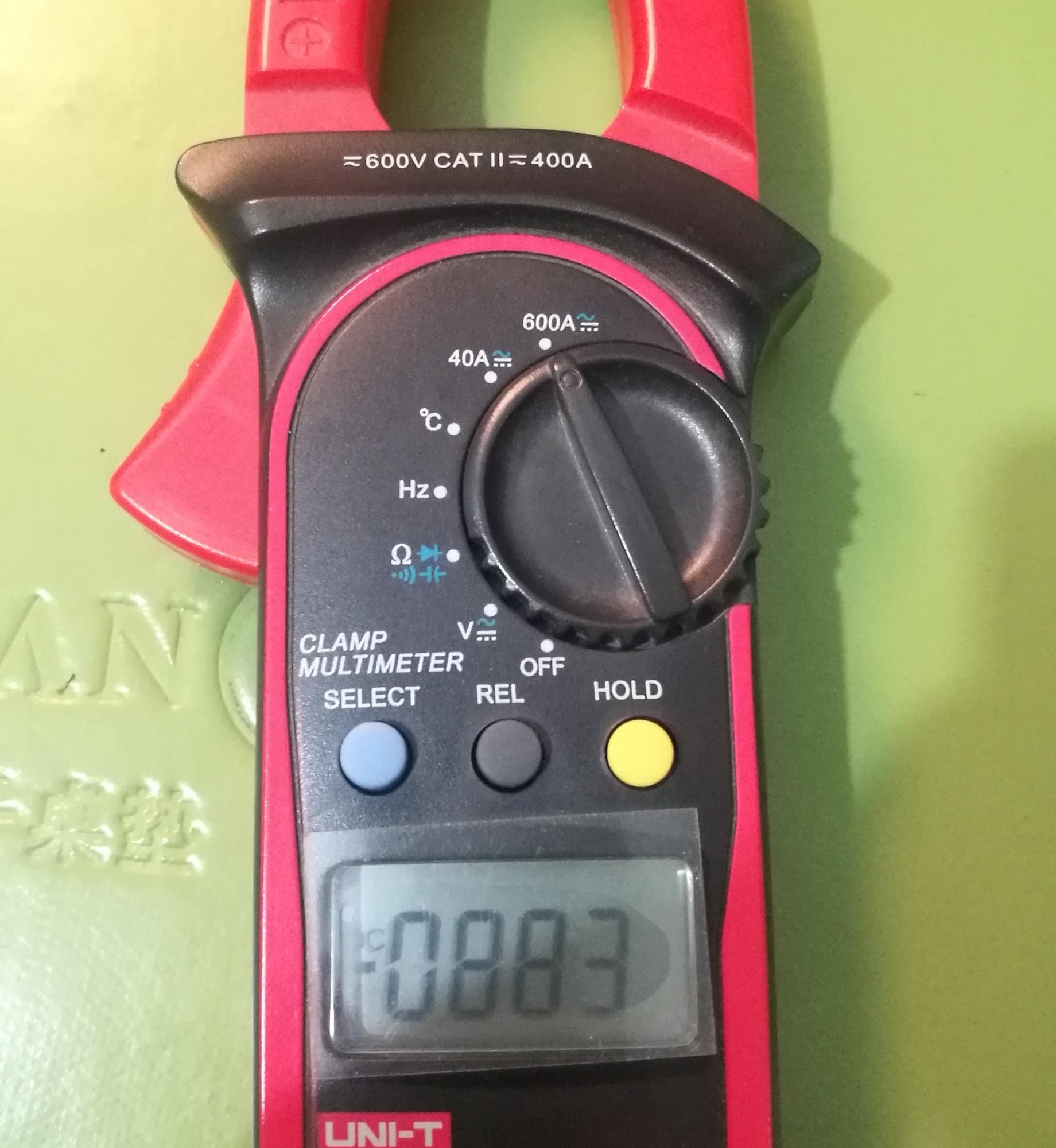 优利德204A万用表电流量程无法使用!