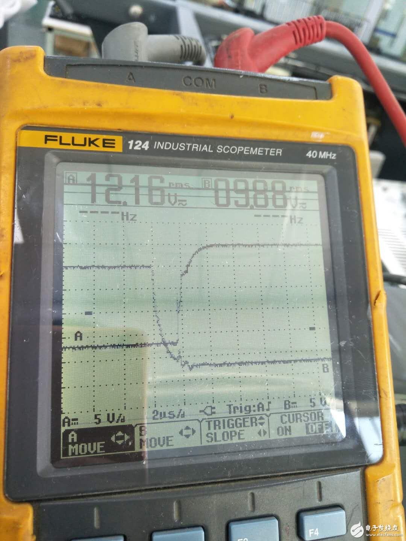 开关电源IGBT驱动波形的死区
